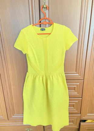 Платье миди  желтое вязанное мастхев must have musthave
