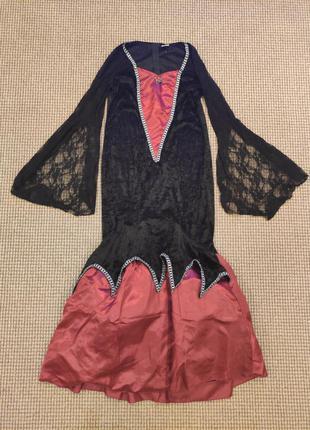 Платье ведьмы halloween