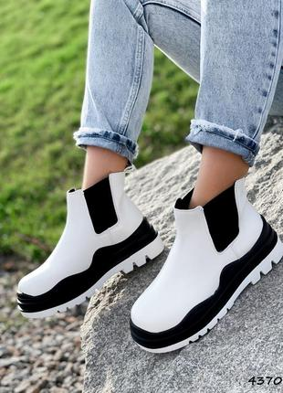 Крутые ботиночки эко кожа