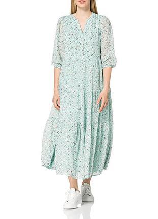 Длинное шифоновое платье esprit