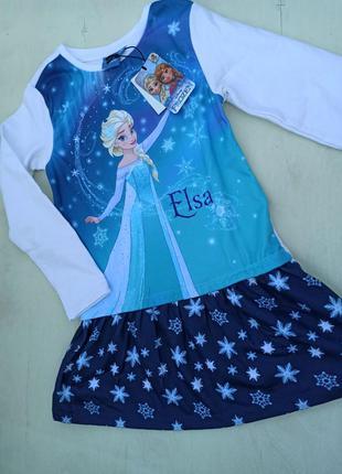 Трикотажне платье для дівчинки на зріст  134.