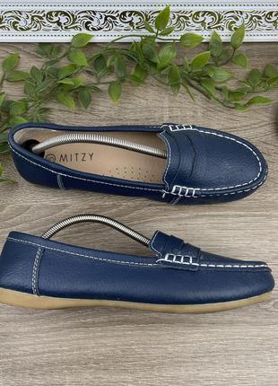 🌿38🌿 европа🇪🇺 mitry. фирменные качественные туфли, мокасины