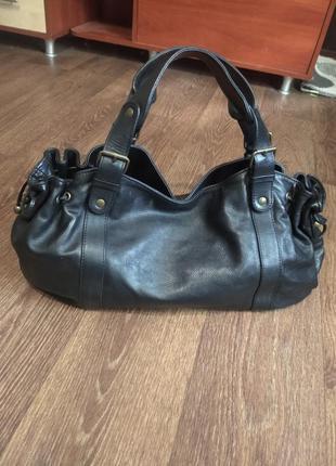 ❤️брендовая натурально кожаная сумка оригинал gerard darel