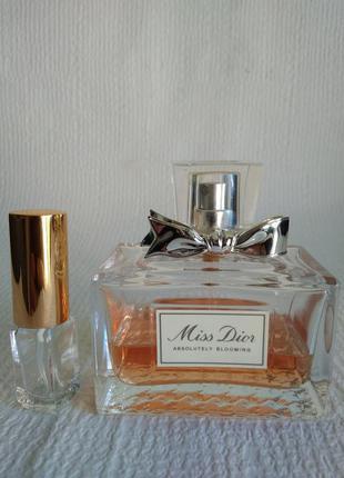 Оригинал !5 мл dior miss dior absolutely blooming парфюмированная вода
