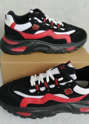 Кросівки tm okshoes р-р 39-44, маломірять, устілка 25-27.5 см