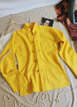 Винжный пиджак японская накидка кимоно