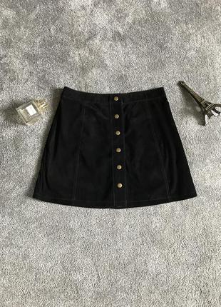 Юбка # замшевая юбка