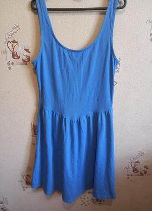 Гарне плаття небесного кольору