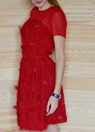 Платье праздничное новогоднее блестящее river island святкова новорічна сукня