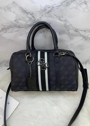 Женская черная брендовая сумка