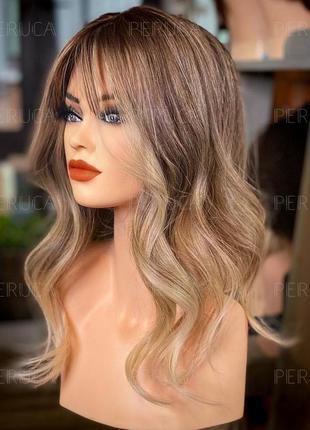 3️⃣0️⃣см матовый парик цена-качество перука натуральный оттенок окрашивание премиум