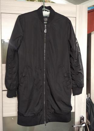 ❤️удоиненная куртка пальто бомпер на меху