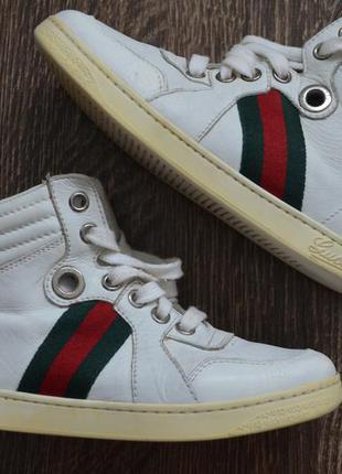Кроссовки от мирового бренда gucci ® sneakers