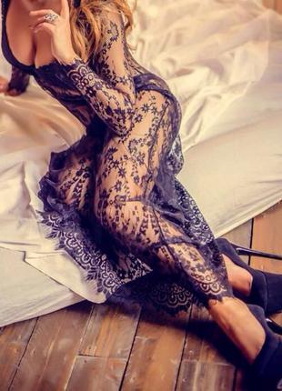 Кружевной пеньюар, для невест, кружевное платье для фотосессий беременности, беременных