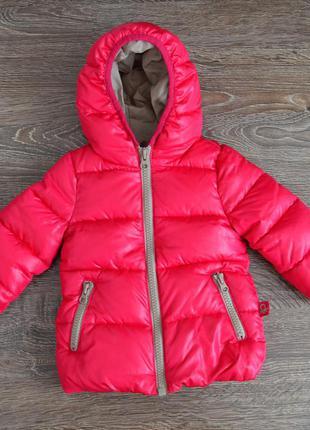 Стильная демисезонная курточка для девочки united colors of benetton