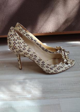 Туфли с открытым носком jimmy choo