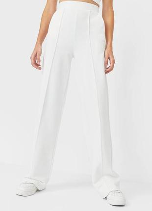 Трикотажные брюки stradivarius