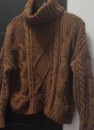 Объемные свитер