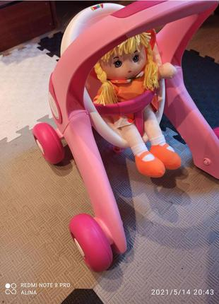 Толокар коляска