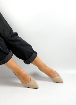 Туфли балетки лодочки 36,37