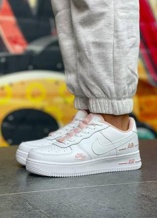 Женские кроссовки nike air force 1 nw white powdery