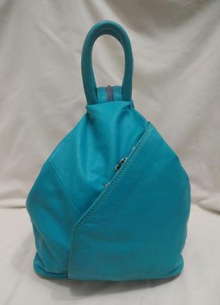 Женский рюкзак натуральная кожа
