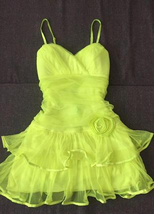 Брендове плаття жіноче сукня d.f.l. defile lux collection xxs-xs [туреччина] (платье женское)
