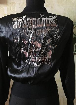Брендова куртка жіноча ozzo xs-s [туреччина] (бомбер женский)