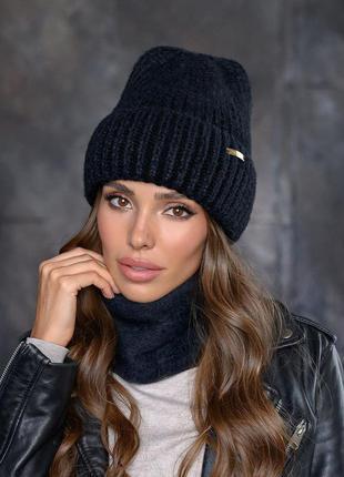 Женская шапка + баф