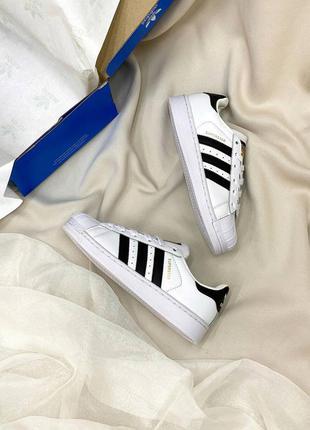 Топовые кожаные кроссовки адидас унисекс