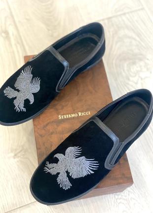 Лоферы мужские чёрные замшевые ,мокасины,туфли
