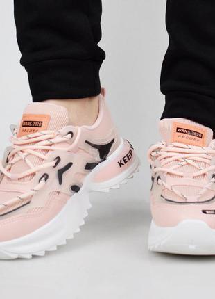 Розовые кроссовки (336427)
