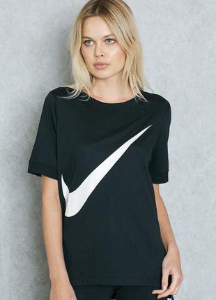 Оригинальная футболка последних коллекций nike (найк) ® w nsw top ss prep