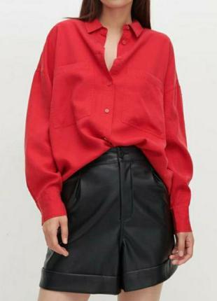 Кожаные шорты большой размер шорты эко кожа брижжи юбка джинсы лосины платье пиджак