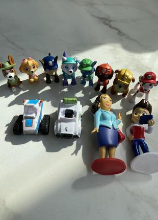 Дитячий набір фігурок щенячий патруль paw patrol 12 штук