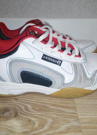 Детские подростковые кроссовки artengo 34 размер 21,5см по стельке