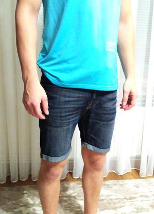 Оригинальные джинсовые шорты h&m