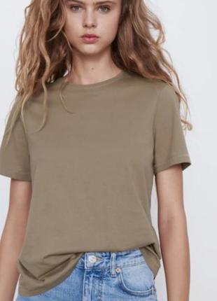 Sale!  базовая футболка zara