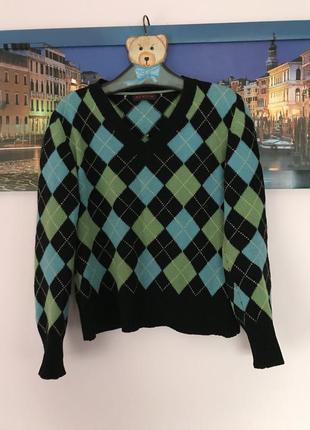 Шерстяная кофта , свитер , джемпер