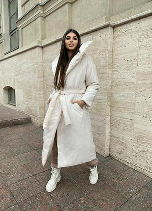 Удлинненая куртка одеяло
