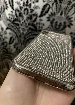 Чехол для iphone айфон xs max со стразами камнями