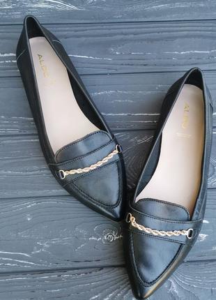 Роскошные кожаные туфли