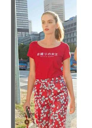 Стильная женская футболка, s 36-38, esmara, германия