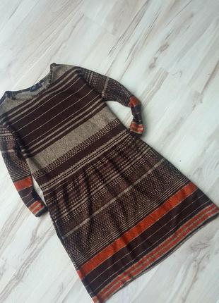 Теплое платье m