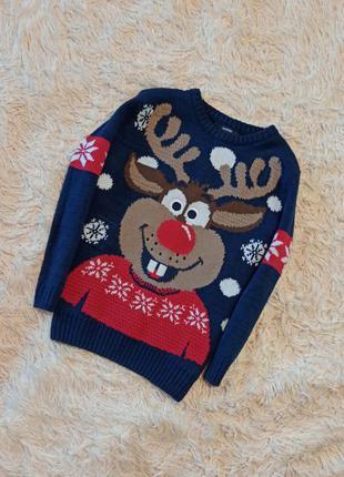 Новорічний светр  новогодний свитер реглан