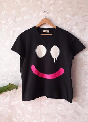 Тёплая футболка