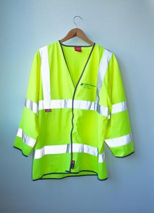 Куртка рабочая со светоотражателем