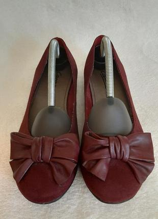 Оригинальные туфли , балетки фирмы carina ( германия) p.38 стелька 24,5 см