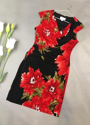 Шикарное сочное платье