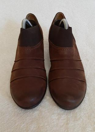 Кожаные туфли фирмы gabor ( германия) р.38 стелька 24,5 см